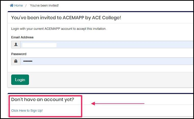 image screenshot of member login-screen